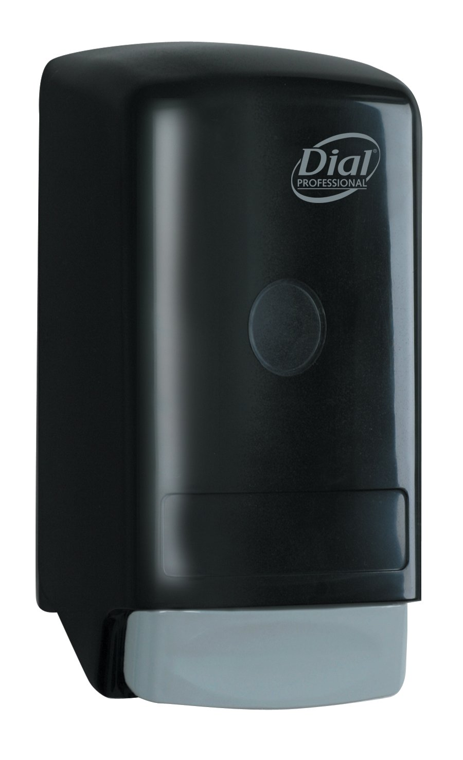 Dial Model 28 Black Flex Dispenser for 800mL Liquid Soaps, 5.25'' Width x 10.25'' Height x 4'' Depth (Pack of 6) by Dial
