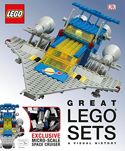 Book cover from Great LEGO Sets: A Visual History by Daniel Lipkowitz