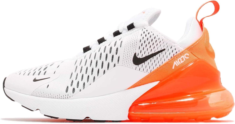 Nike W Air Max 270 Fitnessschoenen voor dames Multicolour White Black Total Orange 104