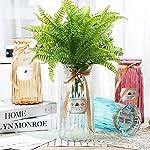Bird-Fiy-Boston-Fern-with-Wicker-Decorative-Silk-Plant-Simulation-Greenery-Bushes-Indoor-Outside-Home-Garden-Office-Verandah-Wedding-Dcor-2PCS