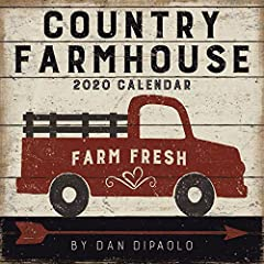 The weathered, painted signs in Dan DiPaolo's Country Farmhouse 2020 Wall Calendar are a perfect complement to the ongoing popularity of the farmhouse decorating trend. Each spread has a time-worn, wood-look patina that fits in perfectly, whe...