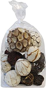 Blue Donuts Decorative Balls for Centerpiece – Decorative Bowl Fillers, Assorted Rattan Wicker Balls Orb Grapevine Ball, Vase Fillers, Home Table Decor