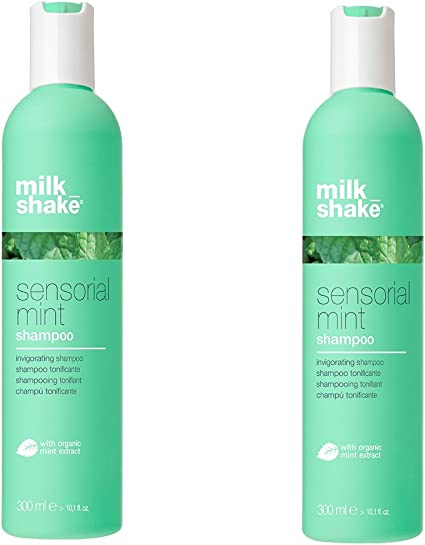 Z. One Milk Shake sensorial Mint Shampoo Duo Pack 2 x 300 ml Champú Tonificante para lavados frequenti 600 ml. Promoción envío gratuita: Amazon.es: Belleza