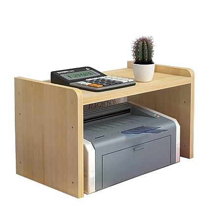 Yumu elevador de escritorio con impresora estante soporte de ...