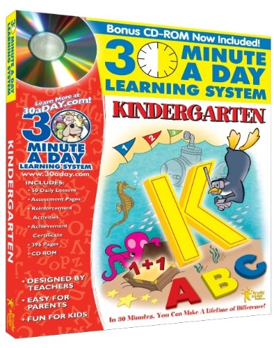 Download 30 Minute a Day Learning System: Kindergarten pdf