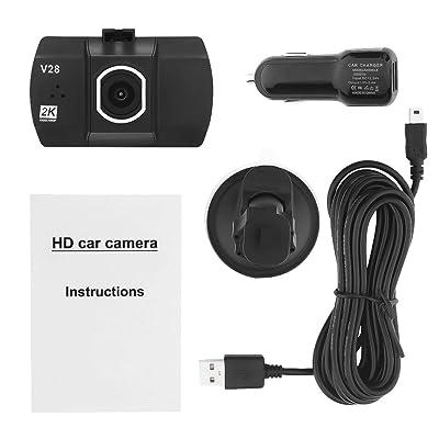1,5 Pulgadas de Pantalla TFT DVR cámara de Coche Full HD 1080P Grabador de Video Dashcam de 170 Grados para Coches Seguridad de conducción de la cámara -Negro: Electrónica