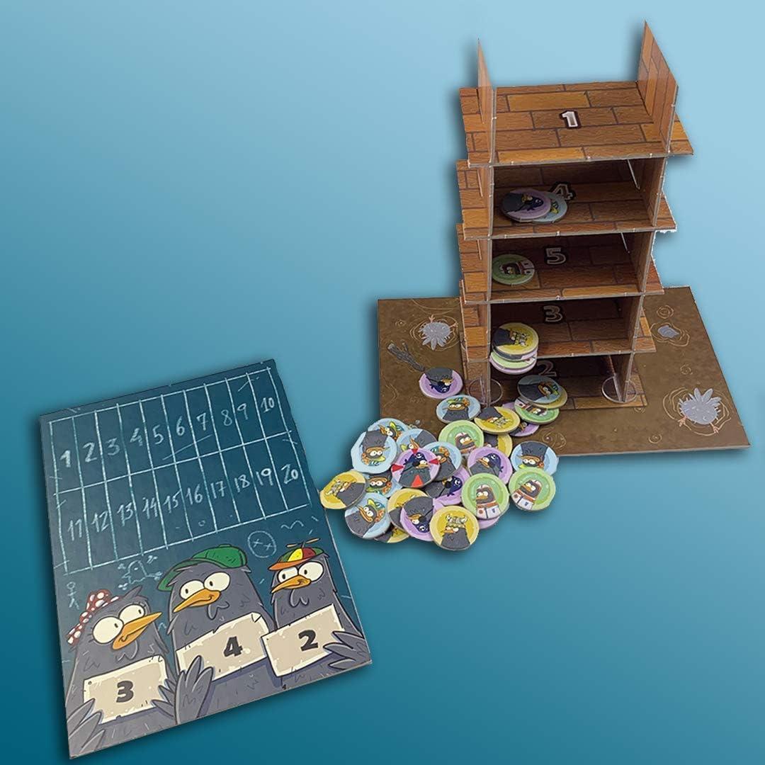 Átomo Games El Palomar. El Juego de Mesa: Amazon.es: Juguetes y juegos
