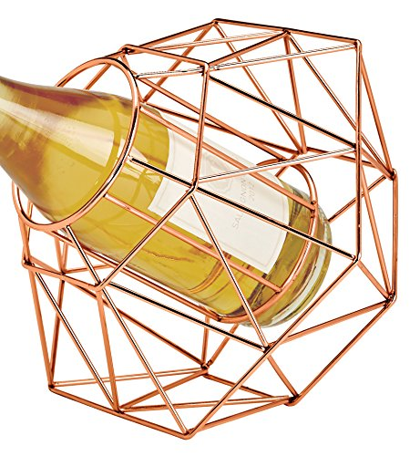 Decor Copper Wine - Wild Eye Designs Diamond Wine Bottle Holder, Copper