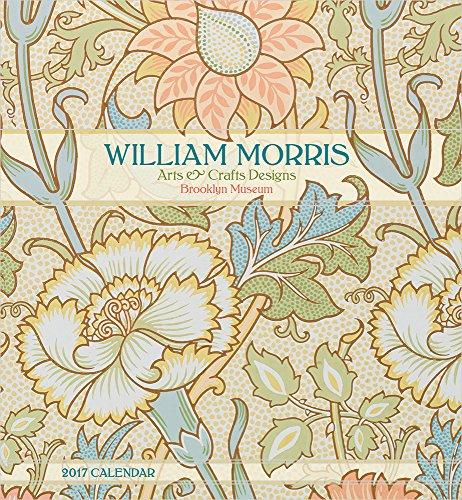 2017 William Morris: Arts & Crafts Designs Wall Calendar by William Morris