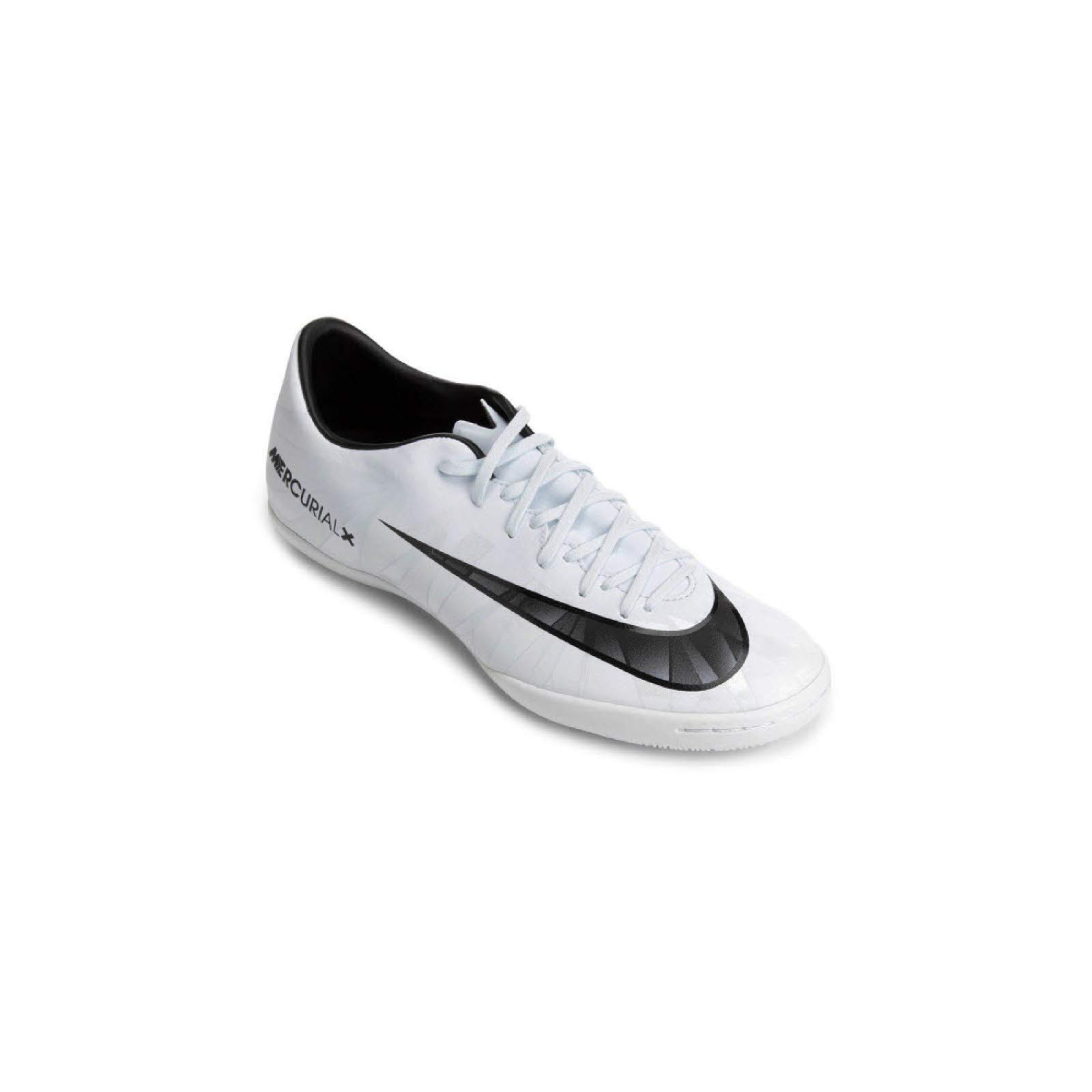 designer fashion a65a1 31d27 Nike Men's MercurialX Victory VI CR7 (IC) Indoor Soccer Cleat Blue  Tint/Black/White Size 8 M US