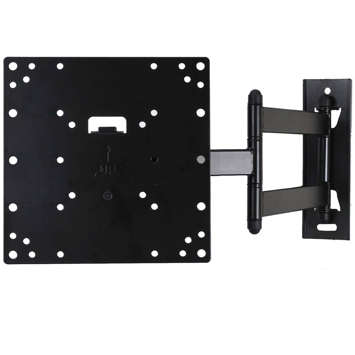 """VideoSecu Tilt Swivel Low profile 1.9"""" TV Wall Mount Bracket for most 27""""-47"""", some LED up to 50"""" with VESA 200x200 200x100 100x100 LCD LED Plasma TV or Monitor, Articulating arm 20"""" extension 3KB"""
