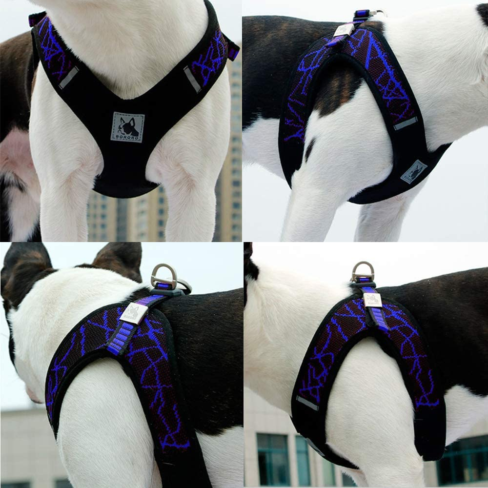 XS, Blue BVAGSS Ajustable Arn/és de Coche Vest Harness con Correa de Conector para Perro Gato Mascotas XH030