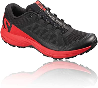 SALOMON XA Elevate Negro Rojo L40659500: Amazon.es: Zapatos y ...