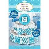 Blue It's A Boy Diaper Cake Decorating Kit