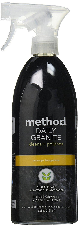 Method 482-S-F9 Daily Granite Cleaner, Orange Tangerine, 28 Ounce (2) by Method