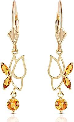 Citrine Crystal Butterfly Dangle Earrings Citrine Citrine Earrings Crystal Earrings Crystal Jewelry,Butterfly Jewelry,Butterfly Earrings