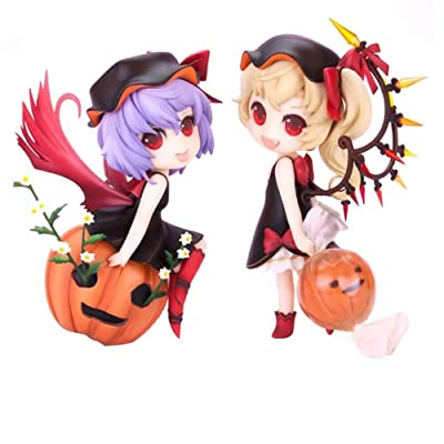 ZFF-DM Touhou Project : Remilia Scarlet Action Figure Flandre Scarlet Figma PVC 4.8 inch: Sports & Outdoors
