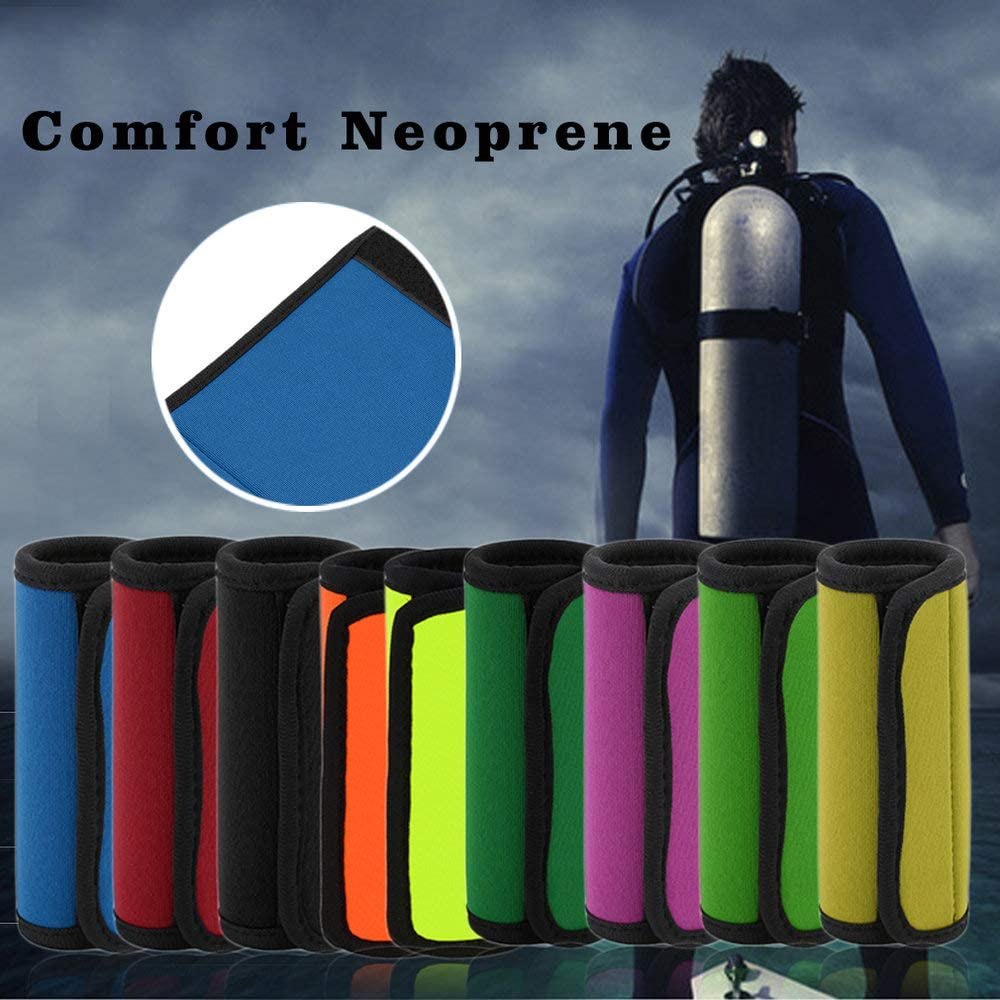 Unitedheart Comfortable Light Neoprene Handle Wraps//Grip//Identifier for Travel Bag Luggage Suitcase Fit Any Luggage Handle Soap Bo
