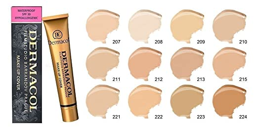 Dermacol Make-up Cover - Waterproof Hypoallergenic Foundation 30g 100% Original Guaranteed from Authorized Stockists (213)