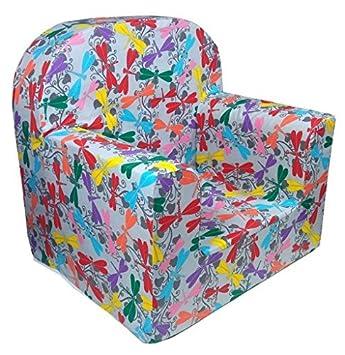 Amazon De Little Tiger Sessel Sofa Sitz Hocker Fur Kinder Kleinkind