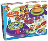 Small World Toys Creative - Pottery Wheel and Splash Art Studio by Small World Toys