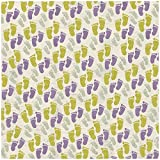 "Maternity/Baby Shower Paper 12""X12""-Pitter Patter Feet  25 per pack"