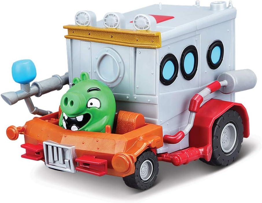 Maisto- Angry Birds Rage Racers - Vehículo motorizado con Sonidos de Red, Multicolor (82502)