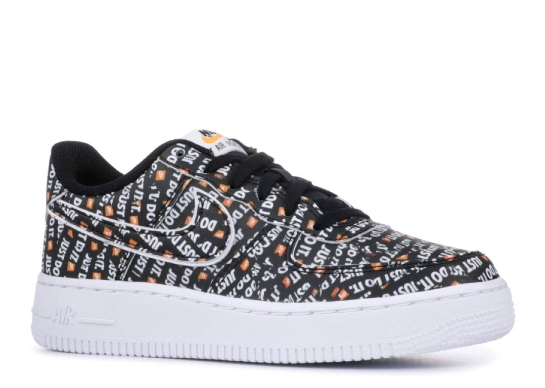 Nike Air Force 1 Ultraforce PRM (Kids) (3.5 M US Big Kid, Black/Total Orange-White)
