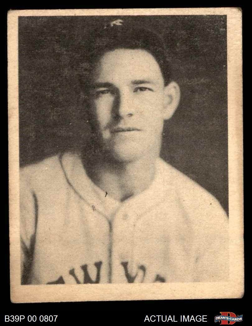 1939 Play Ball # 51 Mel Ott New York Giants (Baseball Card) Dean's Cards 2 - GOOD Giants 61aO7MU-SPLSL1047_