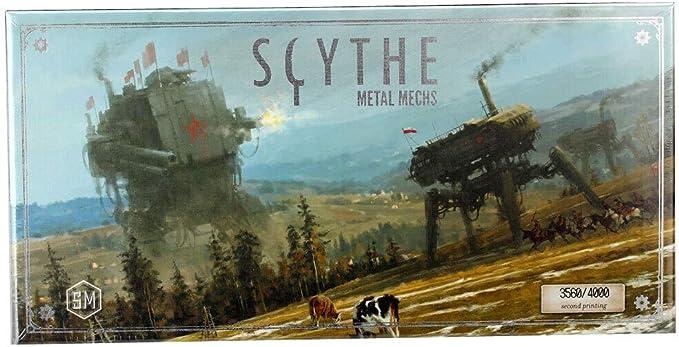 Stonemaier Games Scythe Metal MECHS: Amazon.es: Juguetes y juegos