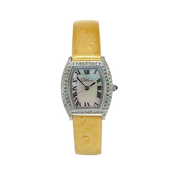 DeCave 103024013 Reloj – Mujer – Latón – Tonneau aprox. 24 x 24 mm –
