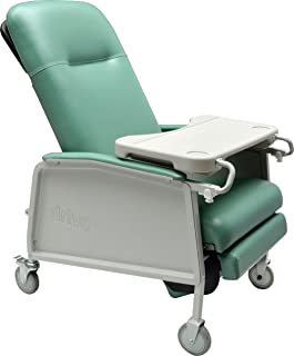 Drive Medical 3 Position Geri Chair Recliner Jade  sc 1 st  Amazon.com & Amazon.com: Drive Medical Clinical Care Geri Chair Recliner Blue ... islam-shia.org