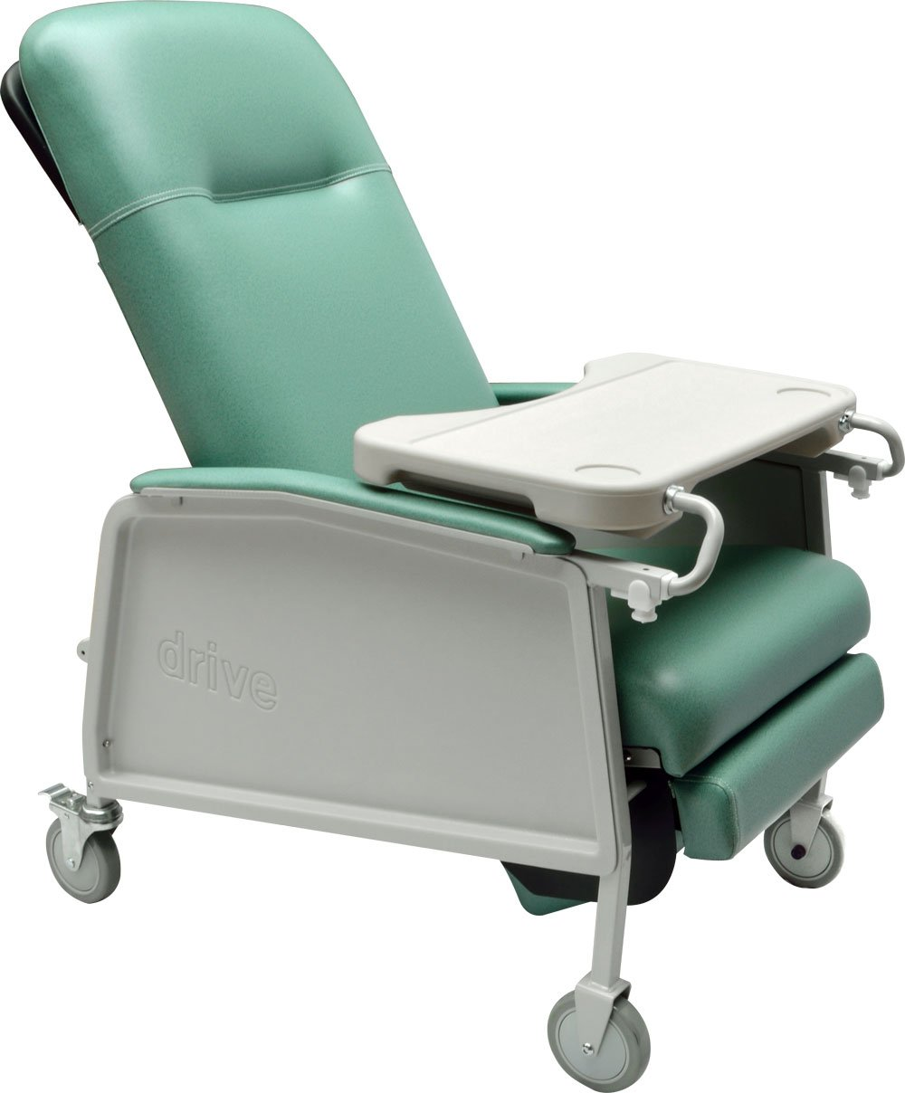 Drive Medical 3 Position Geri Chair Recliner, Jade