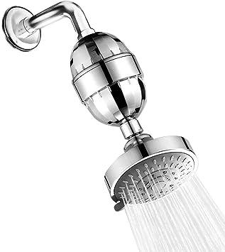 Moneycom - Suavizador de filtro de agua de alcachofa de ducha de ...