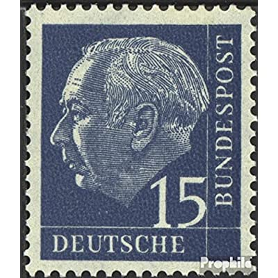 RFA (FR.Allemagne) 184y testés lumogen 1954 Président heuss (je) (Timbres pour les collectionneurs)