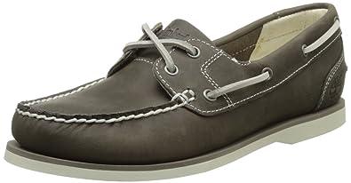 NEU TIMBERLAND Damen Schuhe 3941R 2EYE Classic BOOTSCHUHE Leder Mokassins shoes