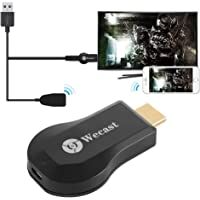 Wecast C2 Wifi Display Dongle Receiver Wireless Screen Mirroring Adapter HDMI HD 1080P Video Media Streaming Support Airplay Miracast DLNA