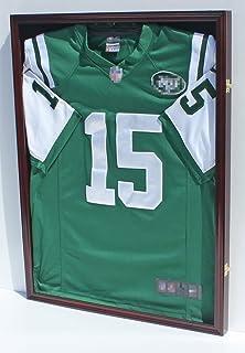 ultra clear uv protect football baseball jersey display case shadow box frame jc04