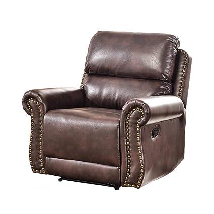 Amazon.com: YXHUI Living Room Sectional Sofa Recliner Set ...