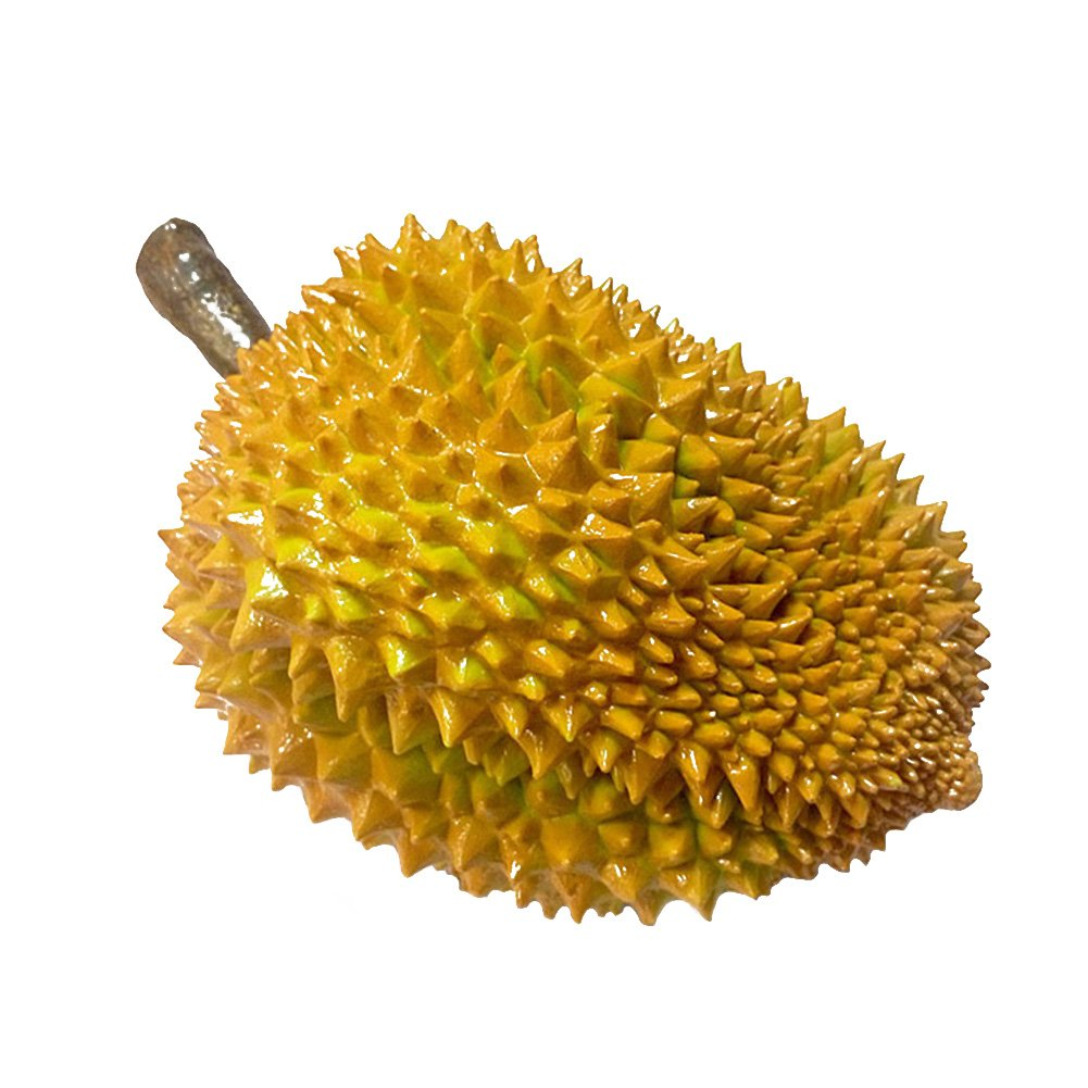S WIDEN ELECTRIC PVC Simulation Durian Artware garden Ornaments Photography or Mischief Props Durian Figurines Home Decor Artificial Fruit