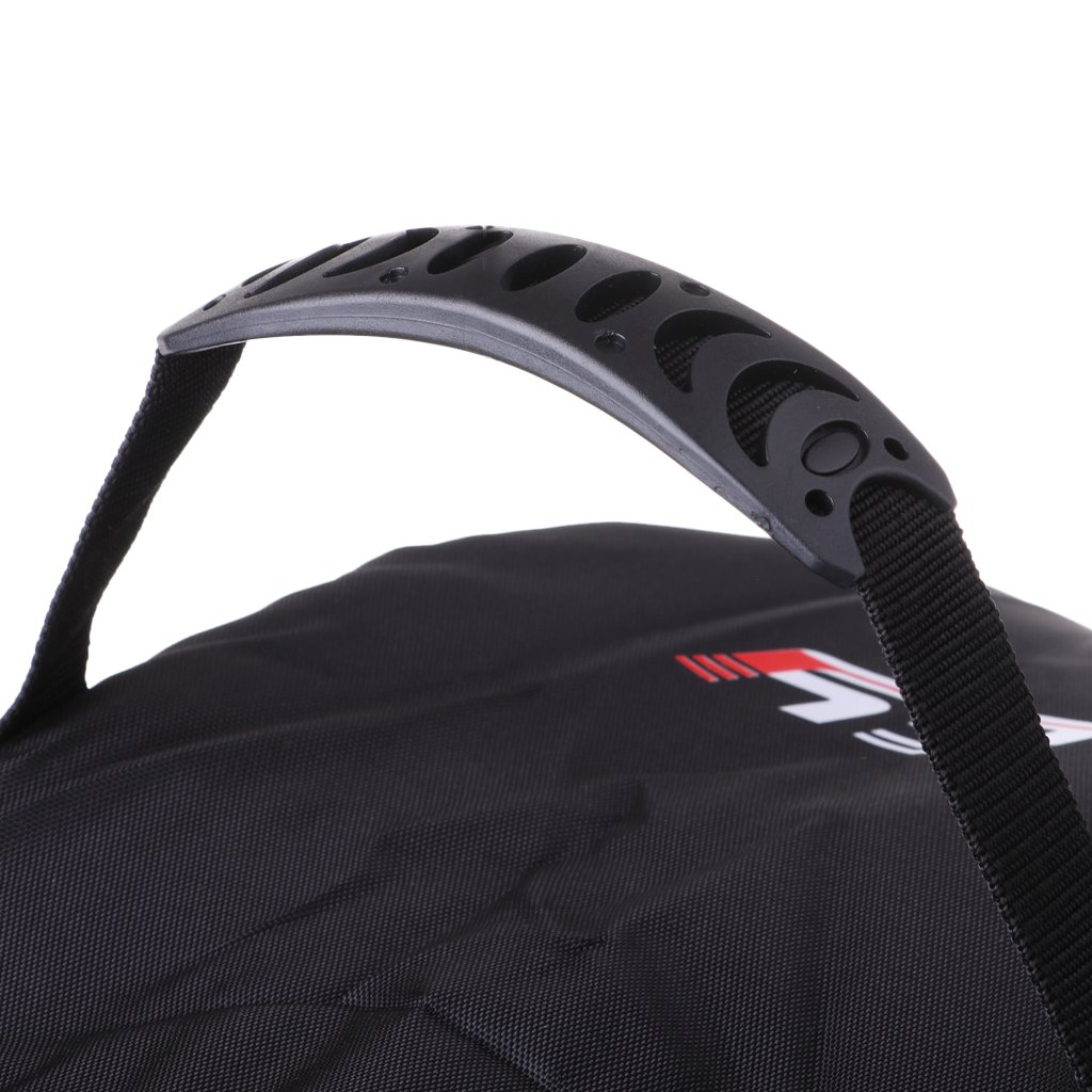 DYNWAVE Durable Nylon Ice Hockey Helmet Bag Goalie Mask Protective Storage Carry Bag