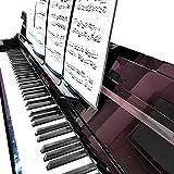 MUKEZON Piano Score Fixed Transparent Extension-type Non-slip Music Case Accessory Piano Accessories