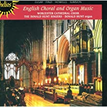 English Choral & Organ Music
