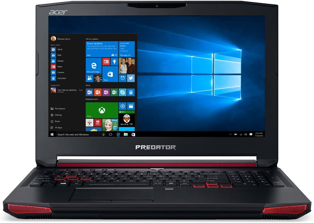 Acer Predator 17 G9-591-75EJ 2.6GHz i7-6700HQ 15.6