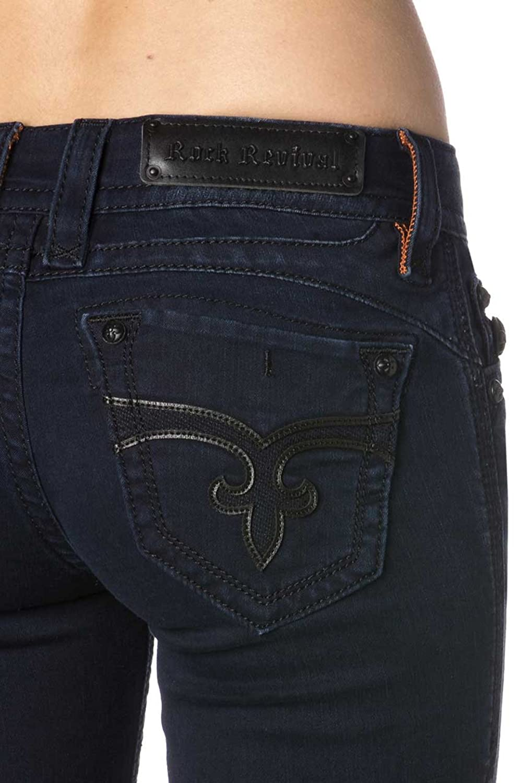 Rock Revival - Womens Adele Skinny Jeans, 24, Denim