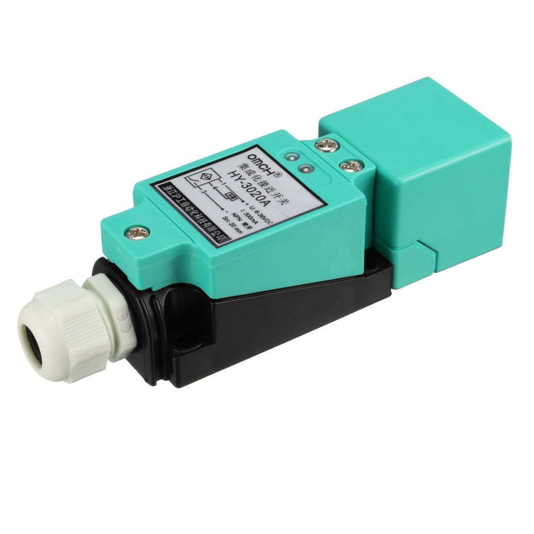 Sn04 P 4mm Approach Sensor Proximity Switch Pnp No Dc 10 In Addition Npn Sensors Diagram On Inductive 30v 200ma Home Improvement