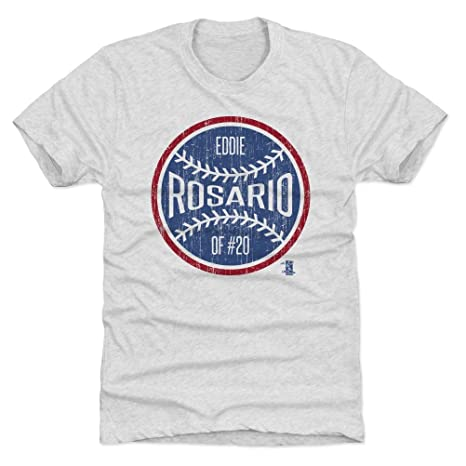 18aed16c6fa 500 LEVEL Eddie Rosario Triblend Shirt Small Tri Ash - Minnesota Baseball  Men s Apparel - Eddie