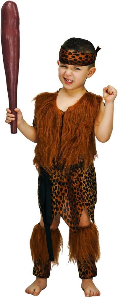 SEA HARE Disfraz de Cavernícola Infantil Disfraz (7-9 años ...