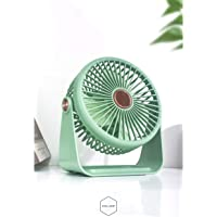 Tycom Portable Desk Fan, Small Personal USB Desk Fan, Desktop Table Cooling Fan Powered by USB Fan with 3 Speeds, Strong…