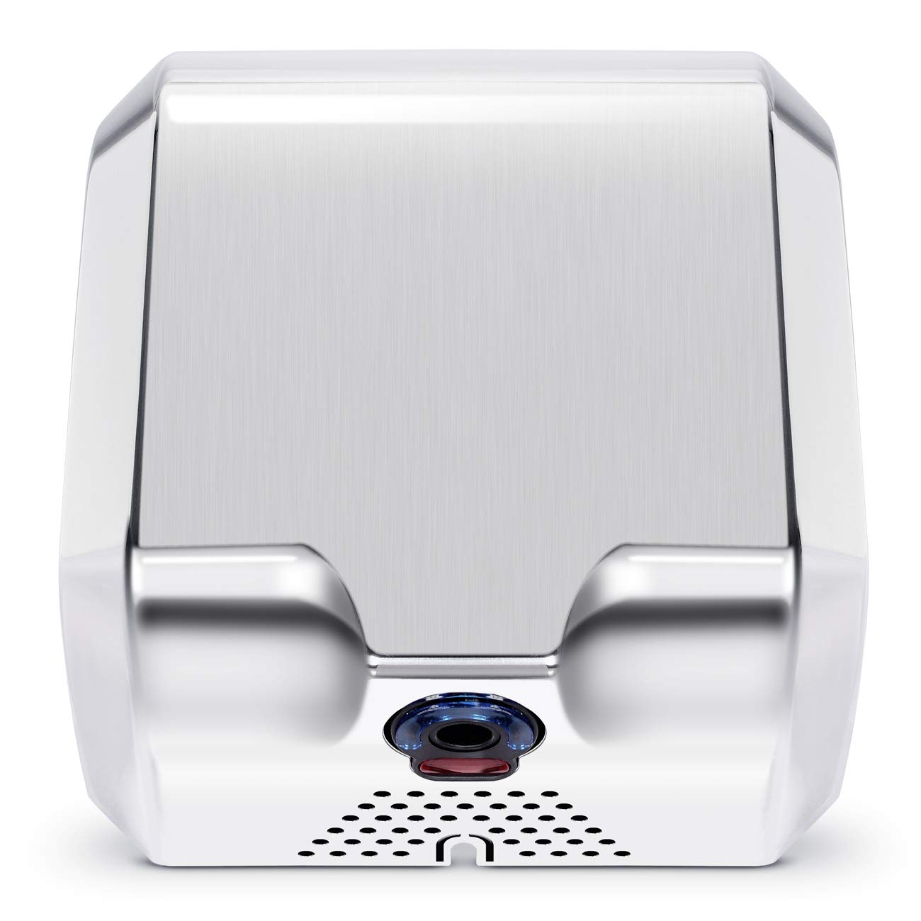 ARKSEN Surface Mounted Automatic Electric Hand Dryer Commercial High Speed 100m/s, Silver, Instant Heat & Dry
